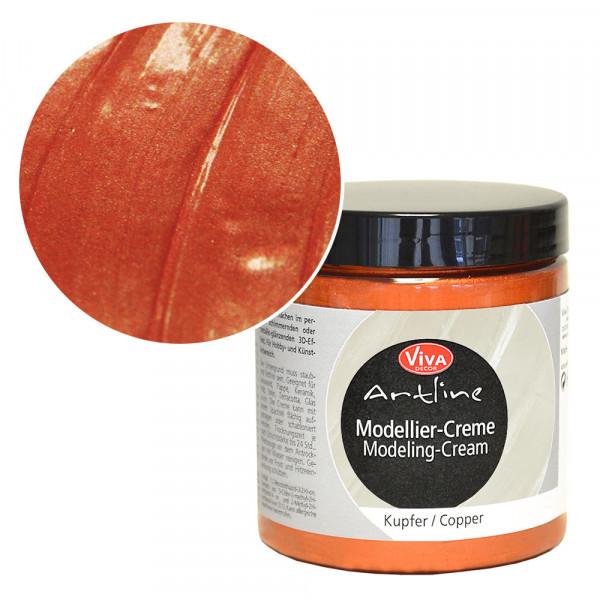 Viva Decor Modellier-Creme, 250 ml, Kupfer