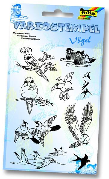 Variostempel - Vögel