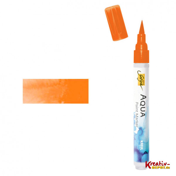 Aqua Paint Marker - Orange