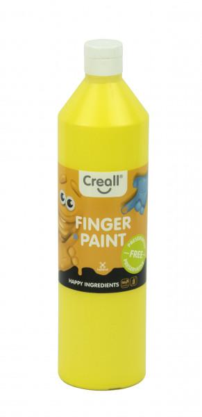 Creall-Fingermalfarbe HAPPY INGREDIENTS, 750 ml, gelb