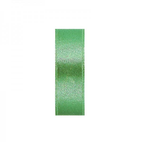 Satinband, doppelseitig, Länge 10 m, Breite 10 mm, maigrün