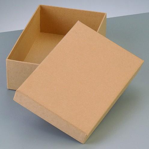 Box Rechteck, aus Pappmaché, 16,5 x 10,5 x 8 cm