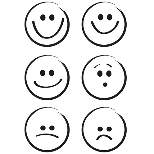 Clear Stamps - Smileys