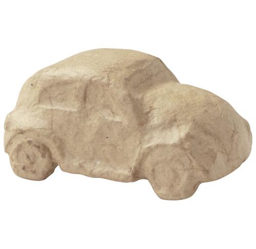 decopatch Auto aus Pappmachè, 9,5 x 5,5 x 4,3 cm