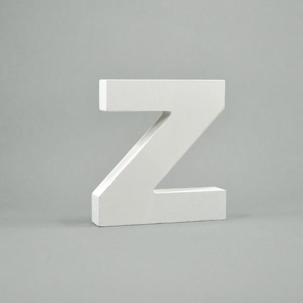 """MDF- Buchstaben """"Z"""", weiß"""