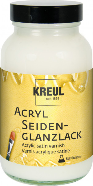 Acryl-Seidenglazlack auf Kunstharzbasis, 250ml