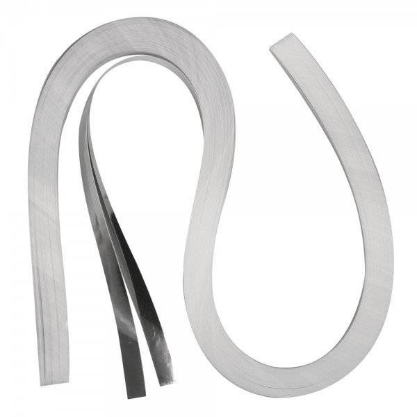Quilling Papierstreifen / Folie, 9mm x 530mm, silber
