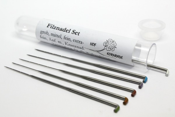 Filznadel-Set, 8 Nadeln
