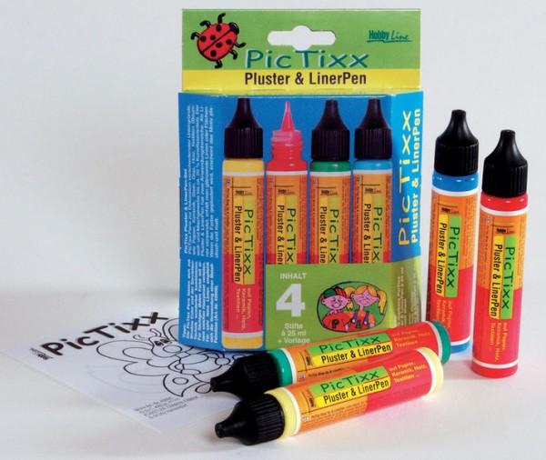 Pic Tixx-Set Pluster & LinerPen