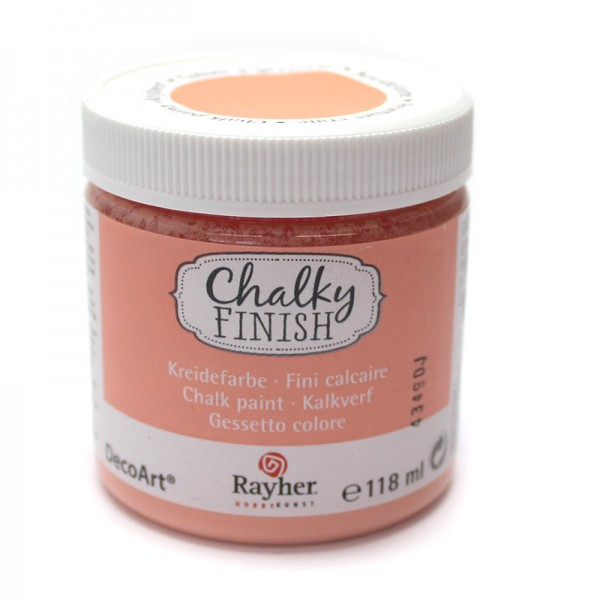 Chalky-Finish Kreidefarbe 118 ml - aprikot
