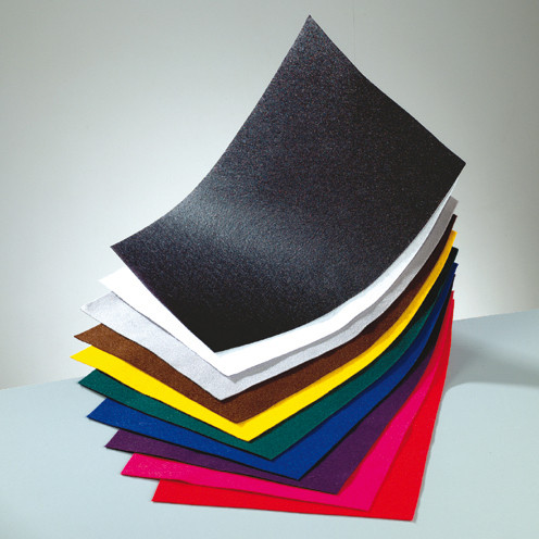 Bastelfilz-Set, 1mm, 20x30cm, 10 Farben sort.