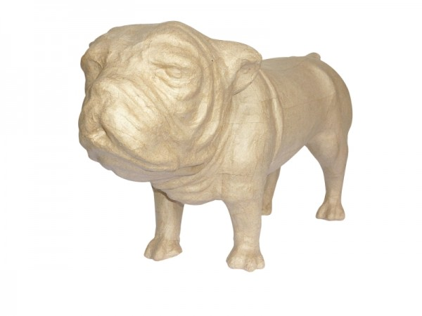 décopatch Tierfigur Bulldogge, 44x18x26 cm