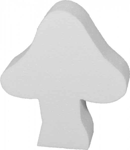 Styropor-Silhouette Pilz 20x17x4cm