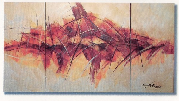 Keilrahmen-Set Moderne Abstrakte 60x120 cm | Kreativ-Depot