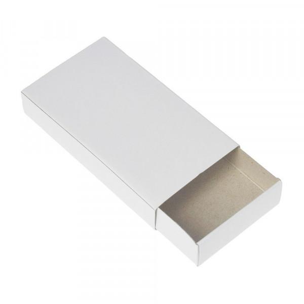 Blanko Streichholzschachteln XXL, weiß, 11 x 6 x 2 cm, 12 Stück