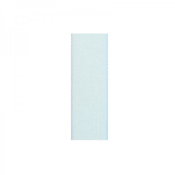 Chiffonband, 10mm breit, 10m lang - hellblau