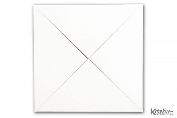 Keilrahmen Dreieck 4er Set - ca. 40 x 30 cm