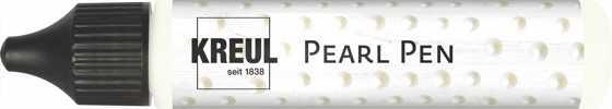 KREUL Pearl Pen, 29 ml, Weiß