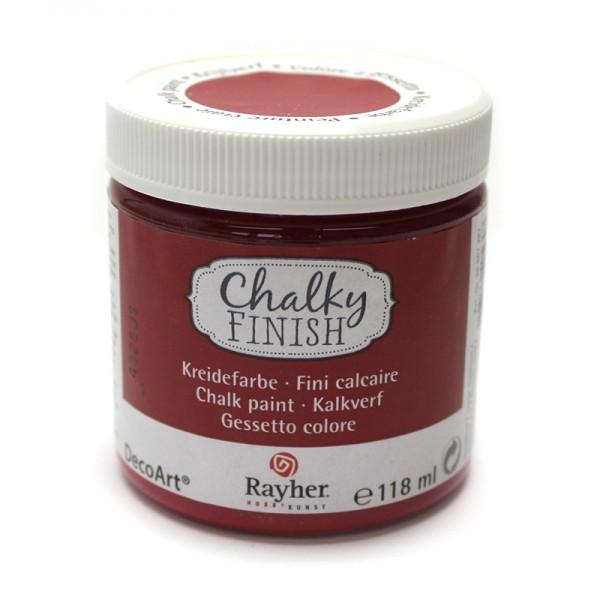 Chalky-Finish Kreidefarbe 118 ml - klassikrot