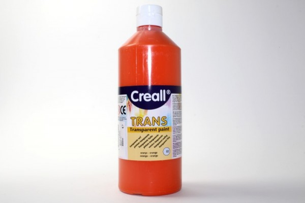 Creall-trans, transparente Farbe, 500 ml, orange