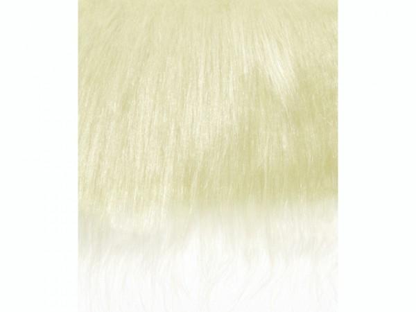 Langhaarplüsch, blond - 20 x 35 cm