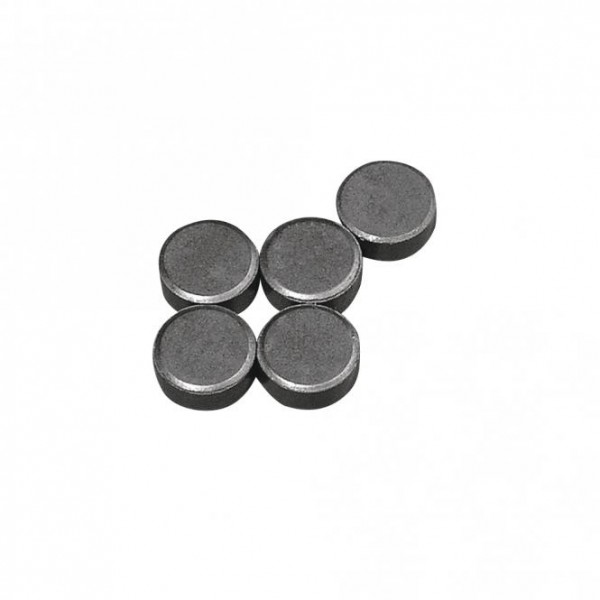 Magnet, 13 mm ø, Stärke 5 mm, 5 Stück
