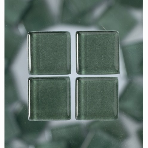 Efco Mosaik Glasstein soft, 10 x 10 mm, grün