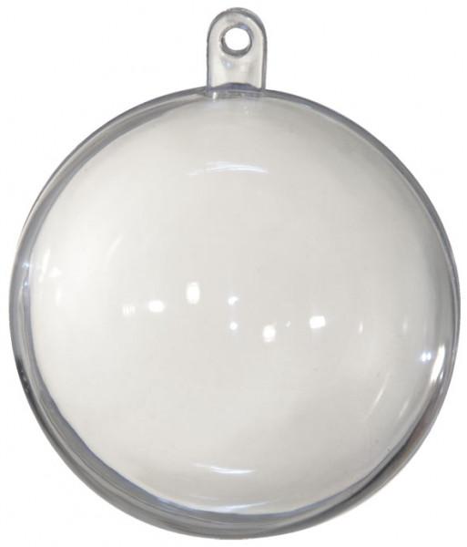Kunststoffkugel transparent, teilbar - 200 mm