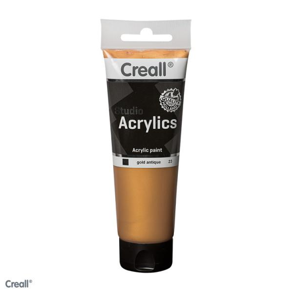 Creall-studio Acrylfarbe, 120 ml, Altgold