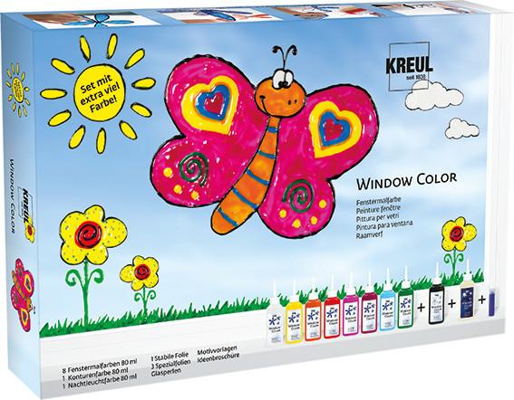 "Kreul Window Color ""Set mit extra viel Farbe"""