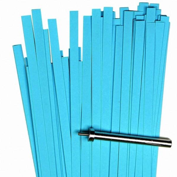 Quilling Papierstreifen, 5mm x 450mm, azur