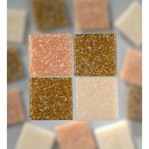 Efco Mosaik Glasstein pro, 20 x 20 mm, naturmix