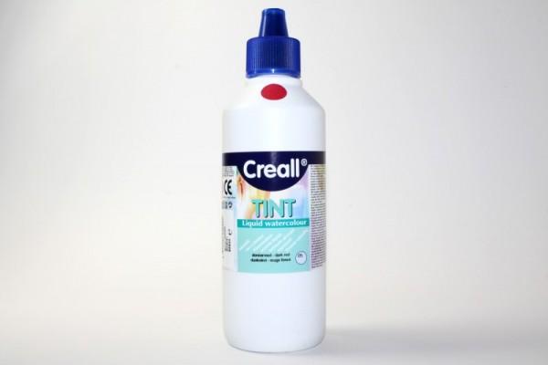 Creall-tint, Wassermaltinte / Aquarellfarbe, 500 ml, dunkelrot