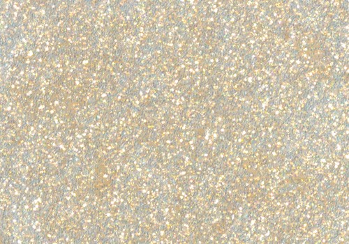 Glitter Glue, 50 ml, weiss
