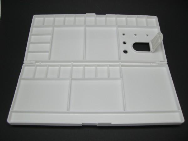 Kunststoffpalette, klappbar, 14x30 cm, eckig