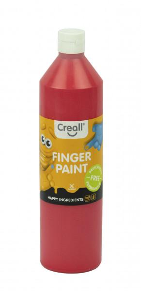Creall-Fingermalfarbe HAPPY INGREDIENTS, 750 ml, rot