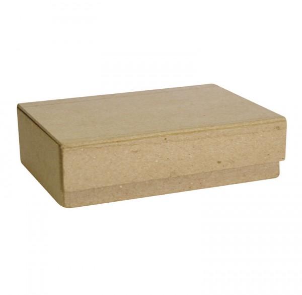 Schachtel für Karten aus Pappmaché, 14x11x4cm