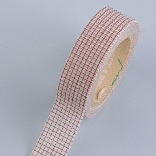 Creative Tape / Washi Tape, 15 mm x 10 m, Minikaro braun