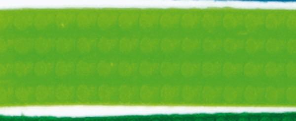 Wachsperlstreifen, 2mm, 20cm, 11 Stk., gelbgrün