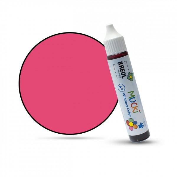 Mucki Window Color Pen, Fenstermalfarbe, 29 ml, pink
