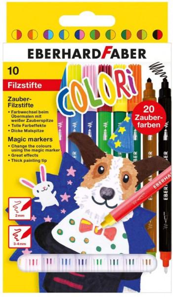 Colori Zauber-Filzstifte in 10 Farben