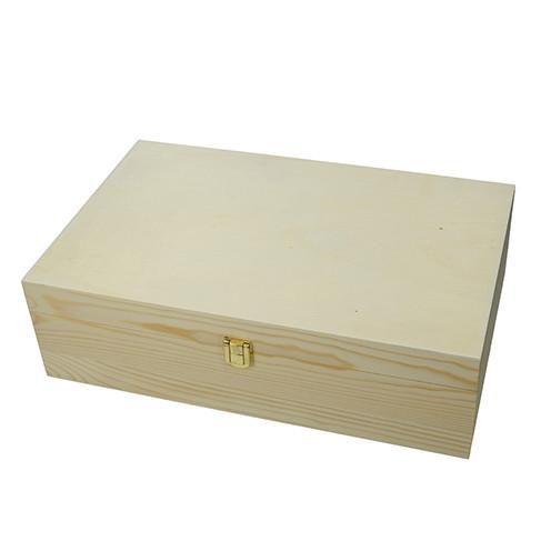 Holzkiste, 35,5 x 22 x 10,5 cm
