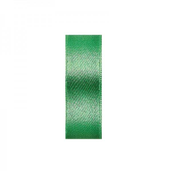 Satinband, doppelseitig, Länge 10 m, Breite 3 mm, grün