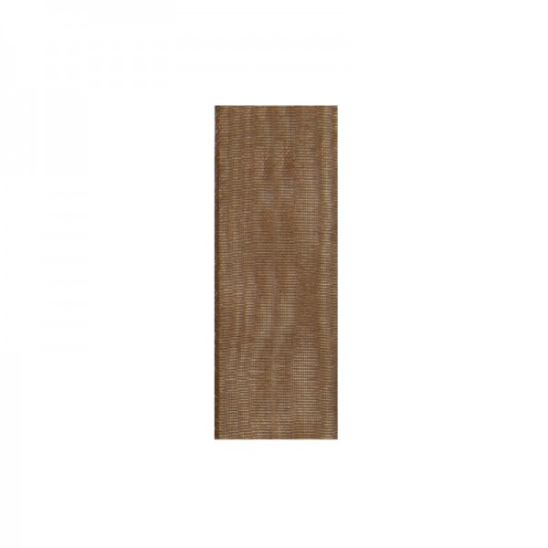 Chiffonband, 3mm breit, 10m lang - braun