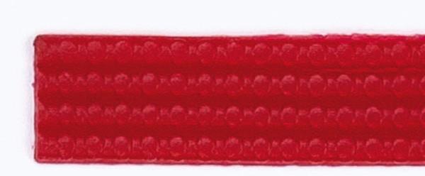 Wachsperlstreifen, 2mm, 20cm, 11 Stk., kaminrot