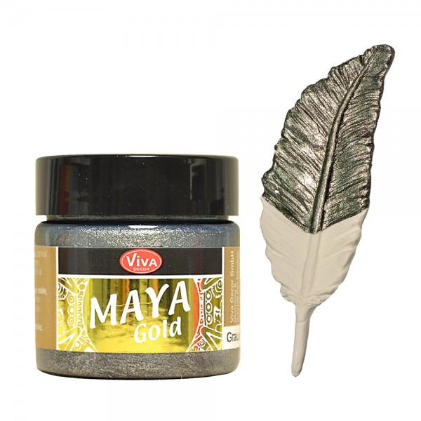 Viva Decor Maya-Gold, 45 ml, Grau