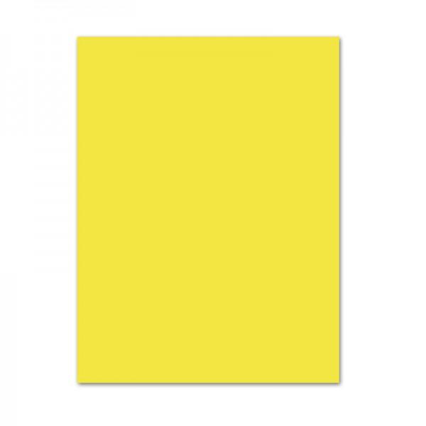 Tonpapier, 10er Pack, 130 g/m², 50x70 cm, zitronengelb