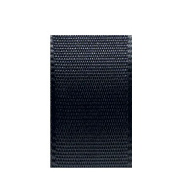 Uni-Taftband, Länge 10 m, Breite 25 mm, schwarz