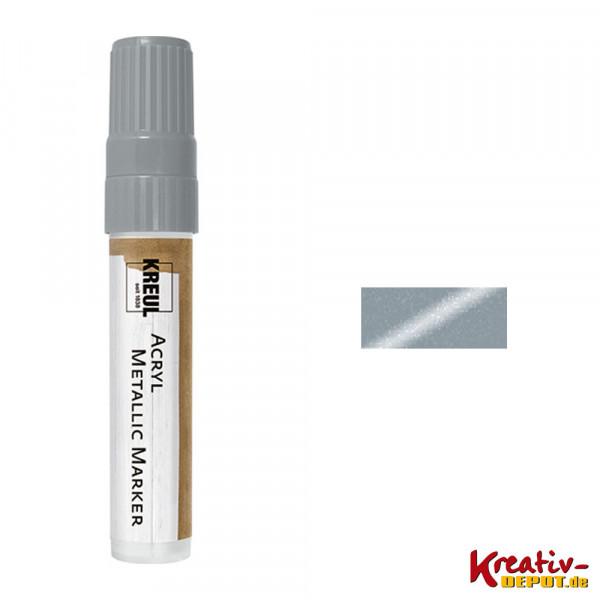 KREUL Acryl Metallic Marker XXL, silber