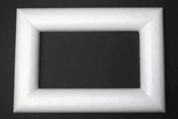 Styropor-Dekorahmen, 23 x 16 cm